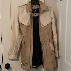 Brown juicy couture trench coat